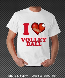 I love volleyball Design Zoom